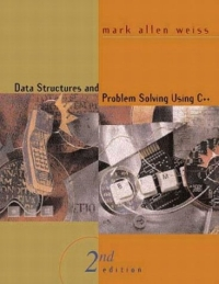 Data Structures and Problem Solving Using C++ (2nd Edition) Cover