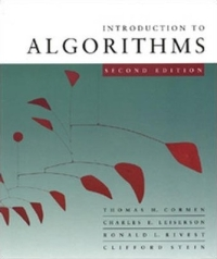 Introduction to Algorithms Cover